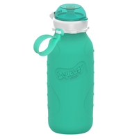 Squeasy Gear Sport Bottle - Aqua Blue (480ml)
