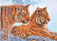 Diamond Dotz: Facet Art Kit - Tigers In The Snow