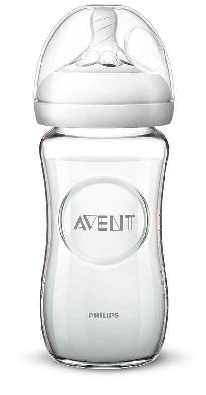 Philips Avent Natural Glass Bottle - 240ml