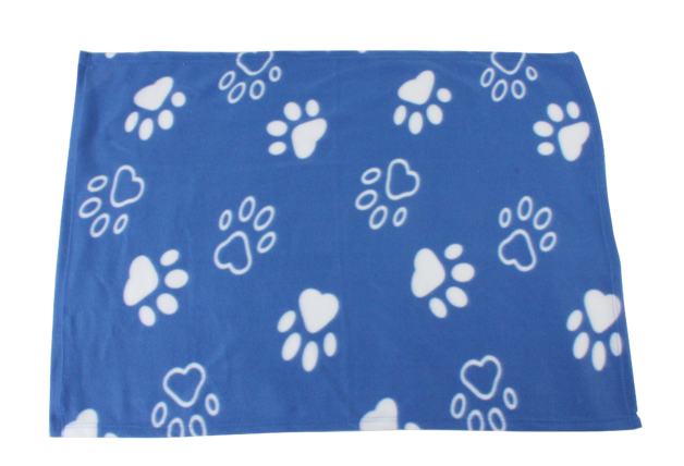 Pawise: Basic Blanket with Paws - 100*70 cm