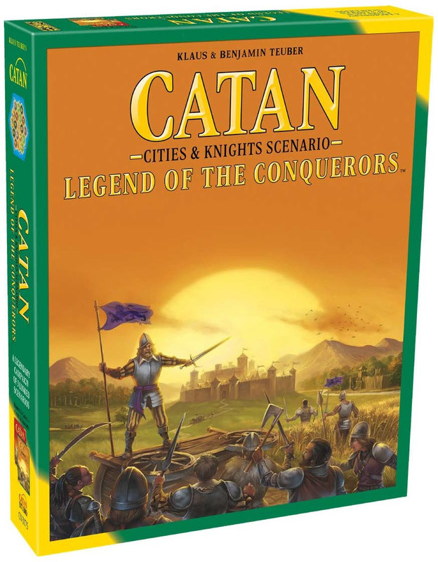 Catan: Legend of the Conquerors - Cities & Knights Scenario