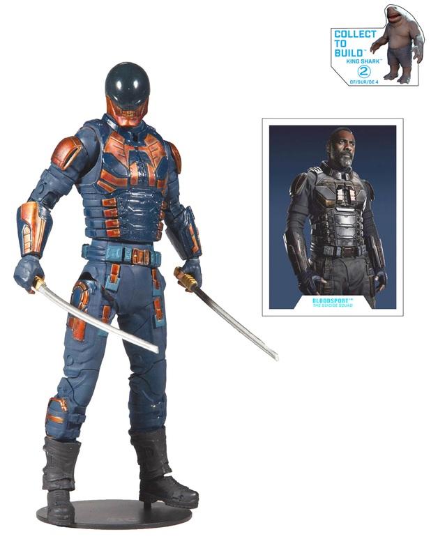 """The Suicide Squad (2021): Bloodsport - 7"""" Build-A-Figure"""
