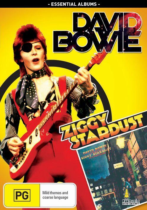 David Bowie: Ziggy Stardust on DVD image