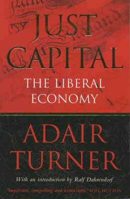 Just Capital by Adair Turner