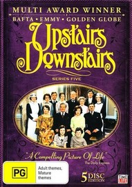 Upstairs Downstairs - Series 5 (5 Disc Set) on DVD image