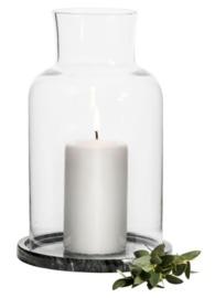 Sagaform: Marble Tea Light Holder - (Black)