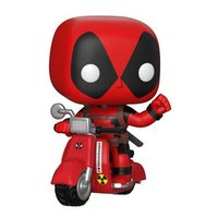 Deadpool with Scooter - Pop! Ridez Vinyl Set