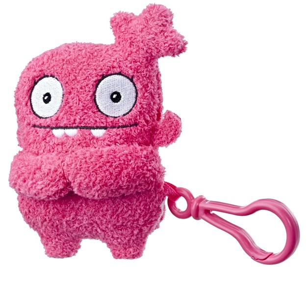 """Ugly Dolls: 5"""" Clip-On Plush - Moxy To-Go"""