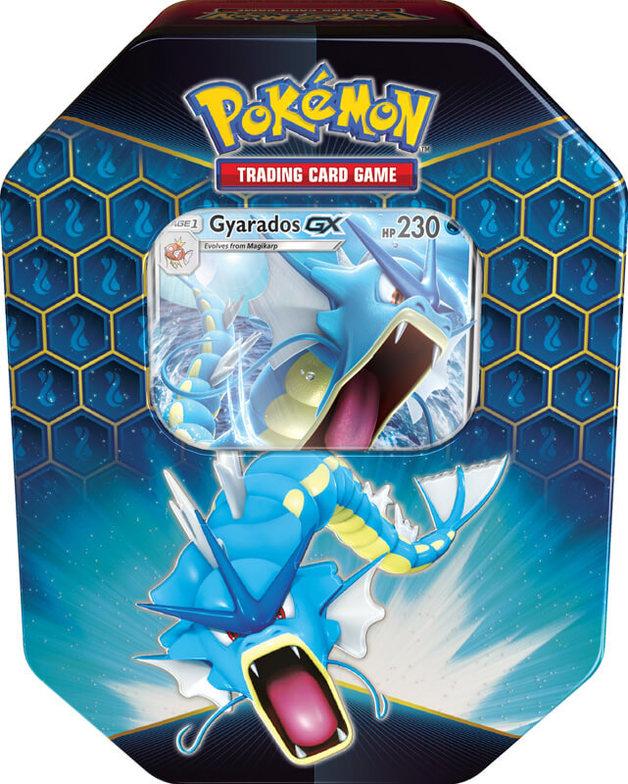 Pokemon TCG: Hidden Fates Tin- Gyarados-GX