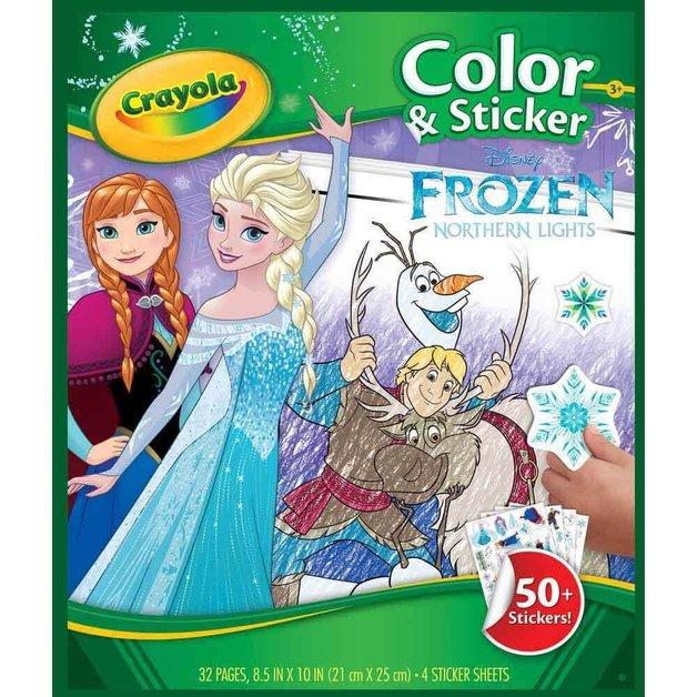 Crayola: Color & Sticker Book - Frozen 2