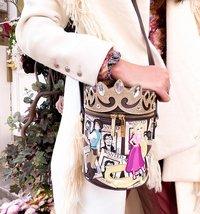 "Danielle Nicole: Rapunzel: ""Wanted"" Cylinder Crossbody"