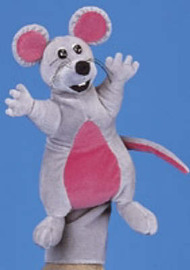 Jolly Phonics Puppet - Inky Mouse: Teacher Accessory image