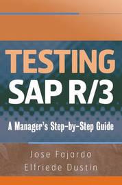 Testing SAP R/3 by Jose Fajardo image