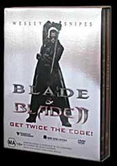 Blade 1 & 2 - Twice The Edge! on DVD