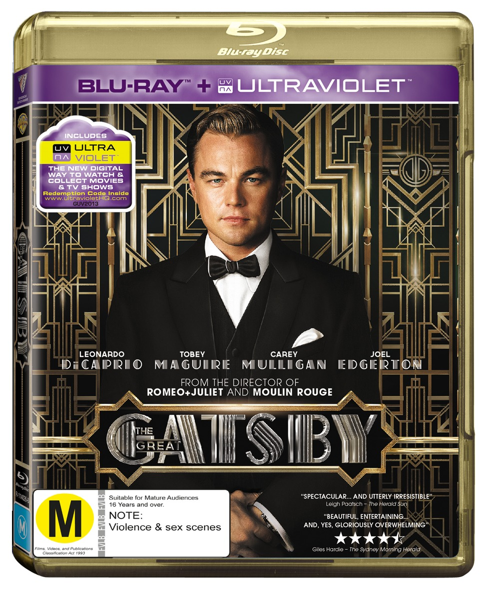 The Great Gatsby on Blu-ray image