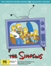 The Simpsons - Season 2 on DVD