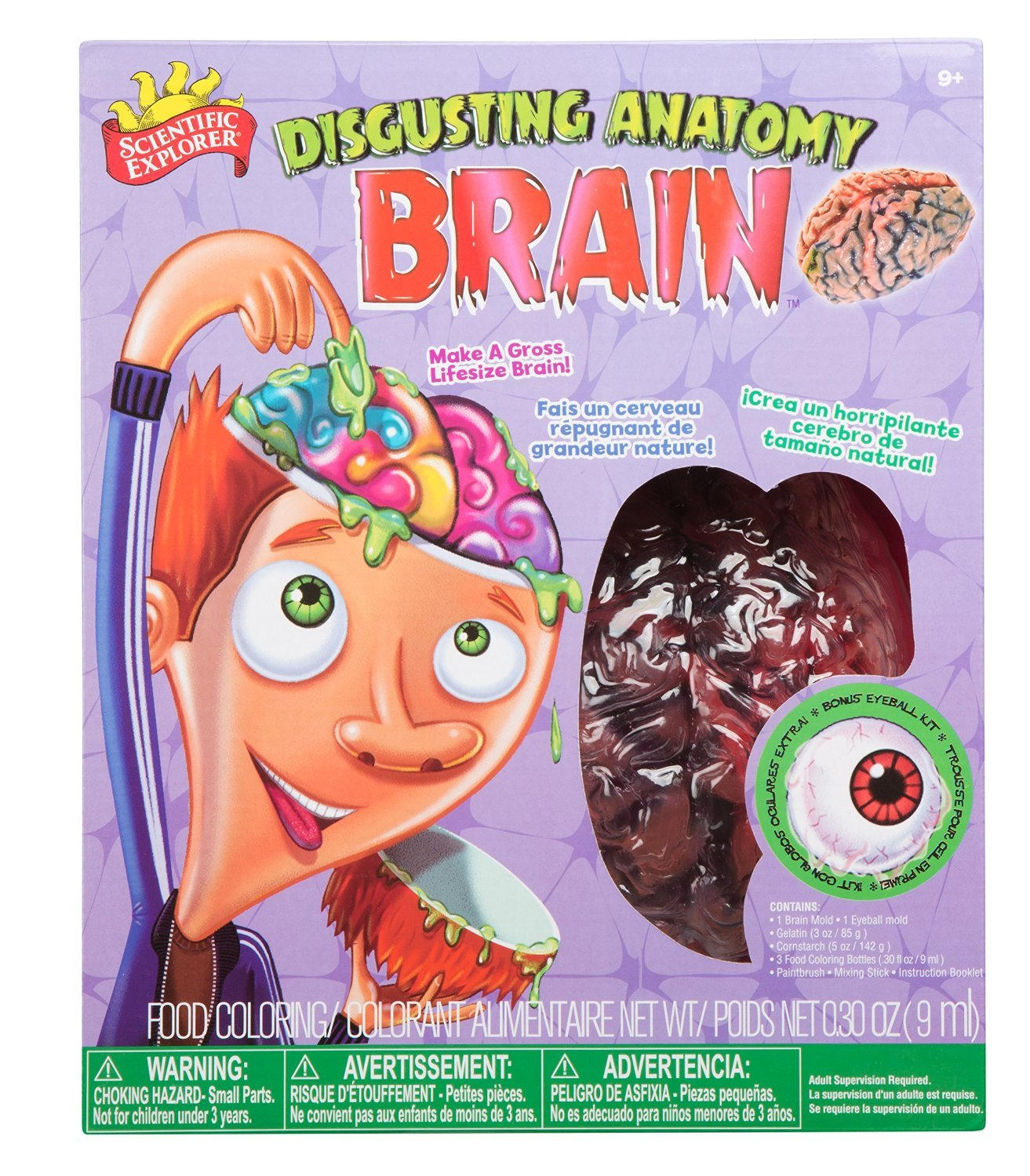 Scientific Explorer: Disgusting Anatomy - Brain Science Kit