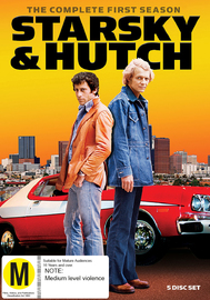 Starsky & Hutch (Season 1) on DVD