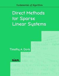 Direct Methods for Sparse Linear Systems by Timothy A. Davis image
