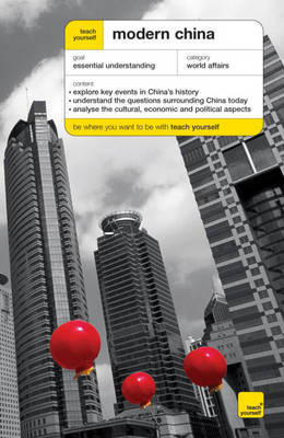 Teach Yourself Modern China by Michael Lynch image