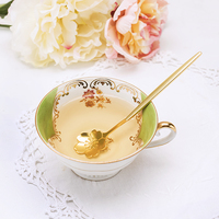 Pinky Up: Floral Tea Spoons (Set of 2)