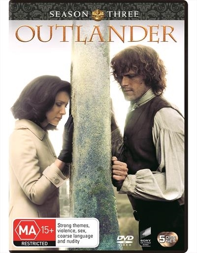 Outlander: The Complete Third Season on DVD image