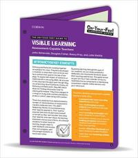 The On-Your-Feet Guide to Visible Learning by John T. Almarode