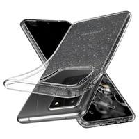 Spigen: Liquid Crystal Glitter Case for Samsung Galaxy S20 Ultra - Crystal Quartz