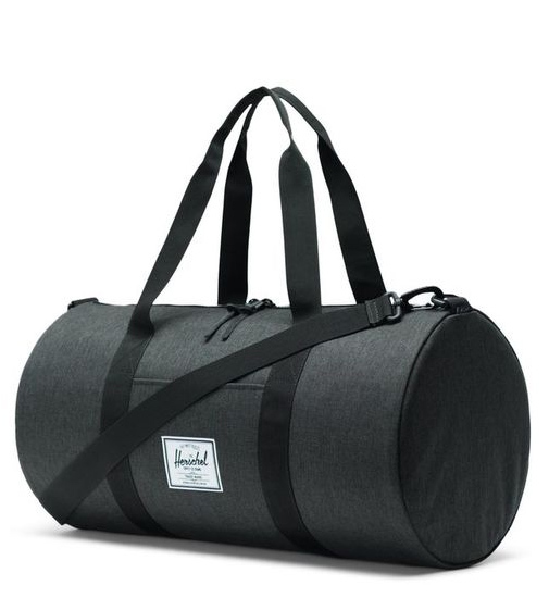 Herschel Supply Co: Sutton Mid-Volume - Black Crosshatch/Black