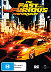 The Fast And The Furious - Tokyo Drift on DVD