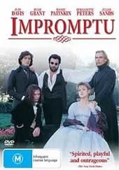 Impromptu on DVD