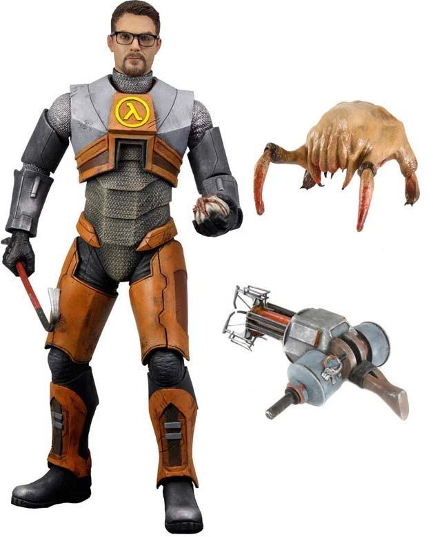 Half Life 2 Gordon Freeman 7″ Action Figure