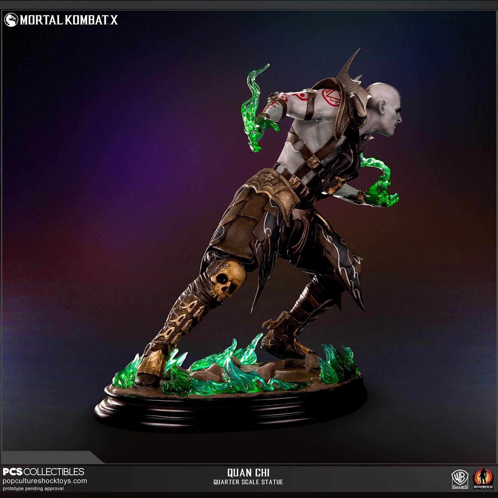 Mortal Kombat X - Quan Chi 1:4 Scale Statue