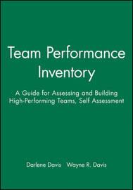 Team Performance Inventory by Darlene Davis image