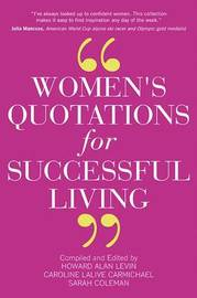 Women's Quotations for Successful Living by Sarah Coleman