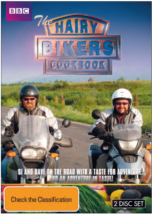 The Hairy-Bikers Cookbook - Complete BBC Series 1 & 2 (2 Disc Set) on DVD image