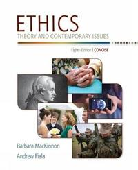 Ethics by Barbara MacKinnon