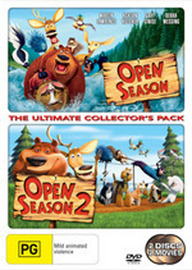 Open Season / Open Season 2 - The Ultimate Collector's Pack (2 Disc Set) on DVD
