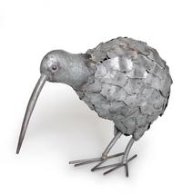 Free Range Kiwi - Silver Large Metal (45X17cm)