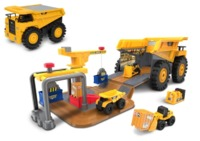 CAT: Construction Zone - Fold Out Worksite Playset