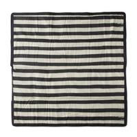Little Unicorn: Outdoor Blanket - Black & White Stripe (5 x 7)