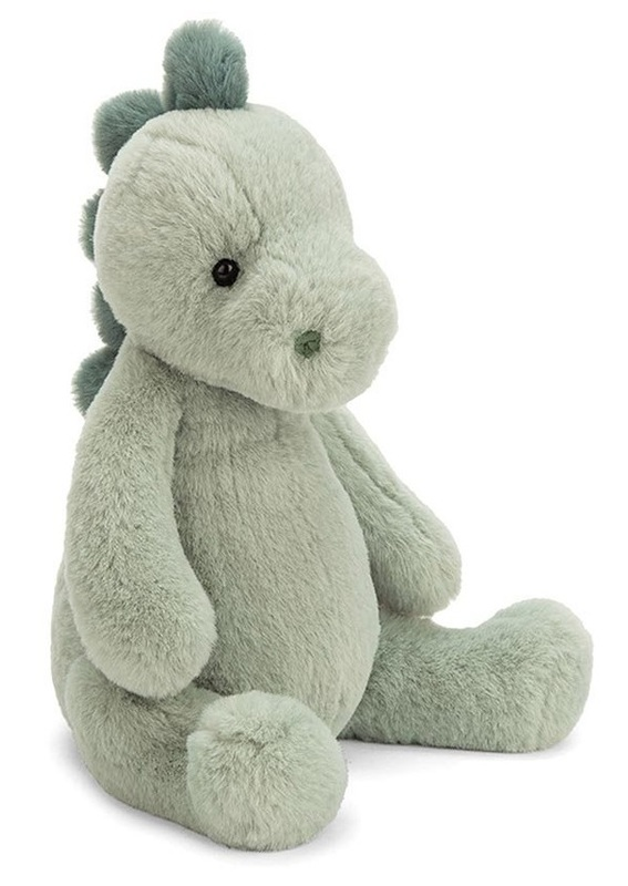 "Jellycat: Puffles Dino - 12"" Plush"
