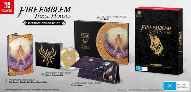 Fire Emblem: Three Houses Limited Edition for Switch