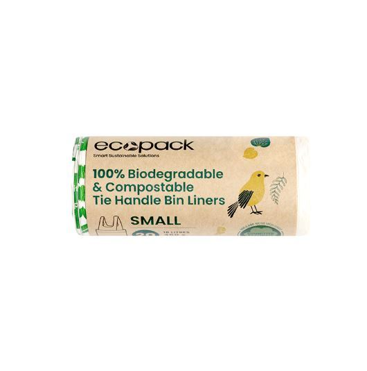 Eco Bags: Compostable and Biodegradable Bin Liner (18L)