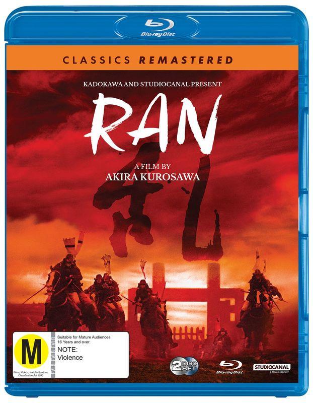 Classics Remastered: Ran on Blu-ray