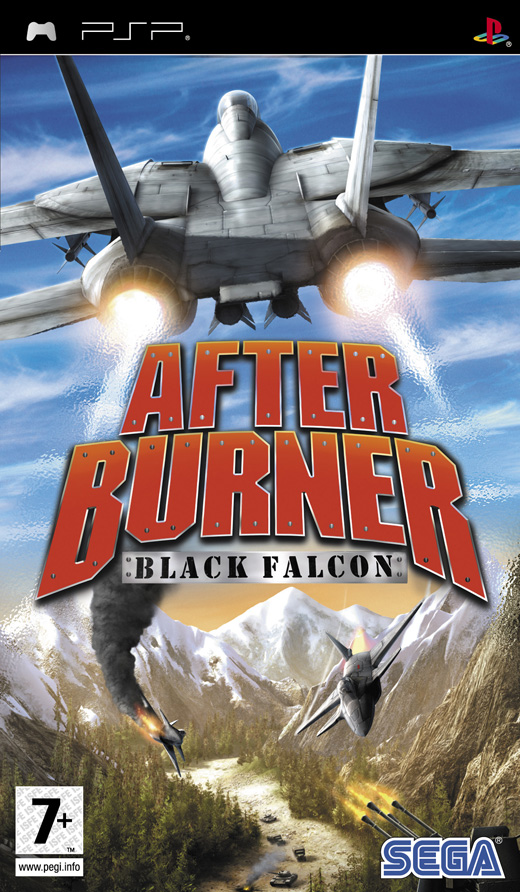 Afterburner: Black Falcon for PSP image