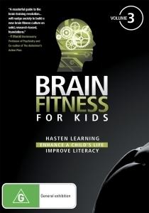 Brain Fitness - For Kids - Vol 3 on DVD