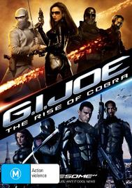 G.I. Joe: The Rise of Cobra on DVD