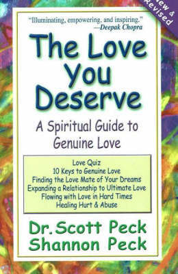 The Love You Deserve by Scott Peck image