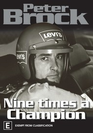 Peter Brock - Nine Times A Champion on DVD